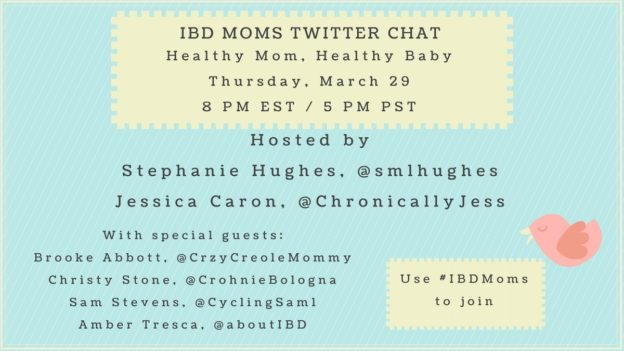 IBD Moms March Twitter Chat